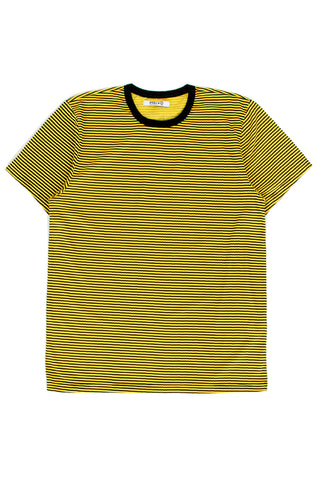 Yellow Black Stripe Tee