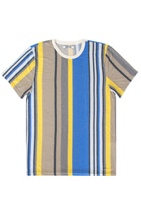Variegated Vertical Stripe Tee Size S Only