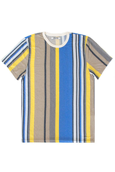 Variegated Vertical Stripe Tee
