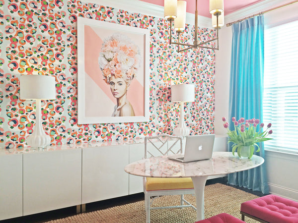 Home Office featuring Marie print