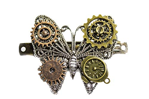 Thousands Chen Jewelry Steam Punk Accessories Butterfly Retro Gear Hairpin Hair Accessories