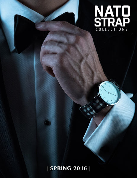 Nato Strap Collections Spring 2016 Lookbook Cover