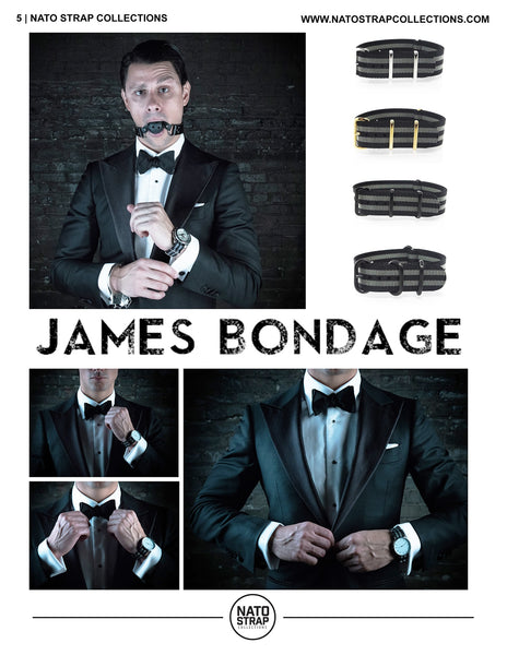 James Bond Nato Strap Styles 2016 Spring Catalogue