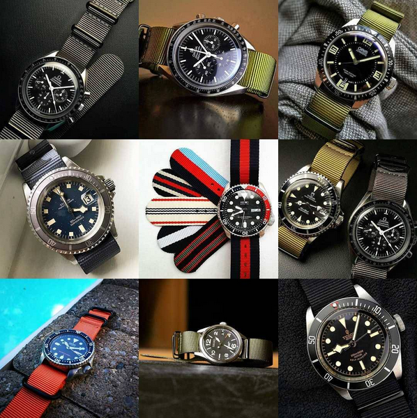 Nato Strap Collections Instagram 2016 Top 9 Images