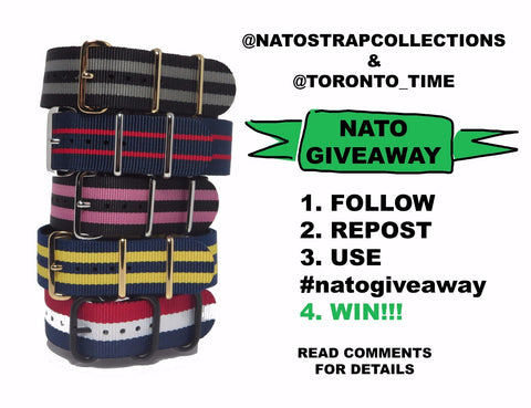 Nato Strap Collections Instagram Giveaway