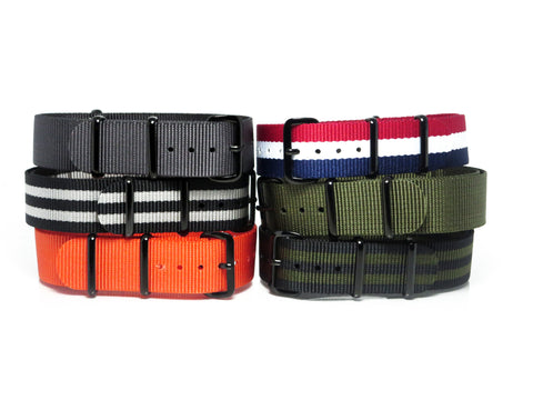 New! Mix 'N Match Bundle with PVD Buckle - Nato Strap Collections - 1