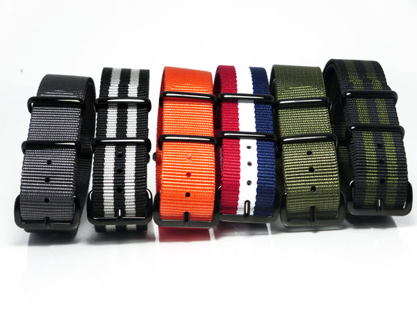 New! Mix 'N Match Bundle with PVD Buckle - Nato Strap Collections - 2