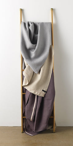 Hiln Linen Throw Blanket Collection