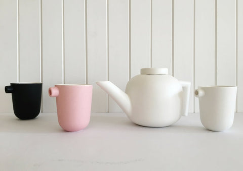 Tableware Ceramics Serax by Catherine Lovatt Teapot and Cup
