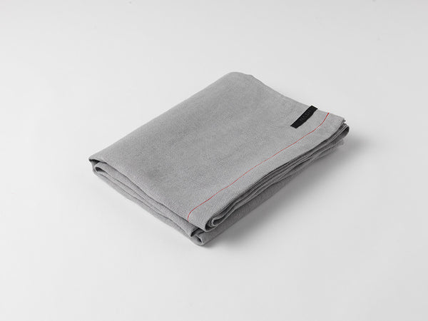 Hiln Throw Blanket | Linen | Dove