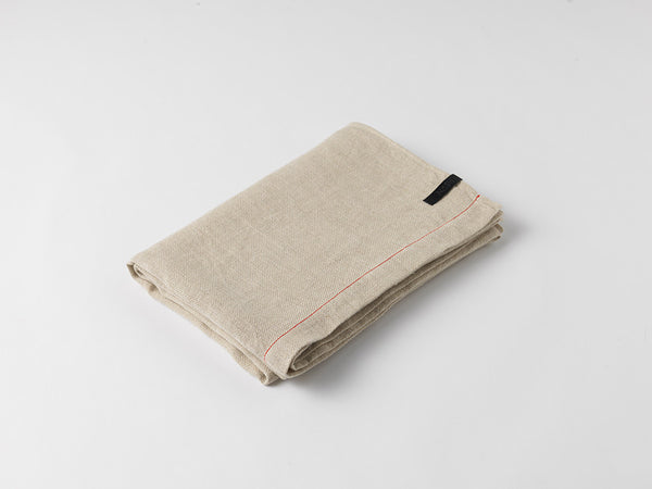 Hiln Throw Blanket | Linen | Natural