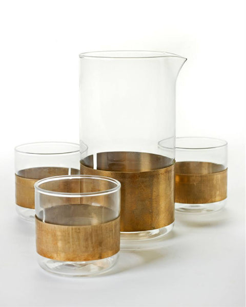 Tableware Glassware - Copper Glass Karaf By Serax