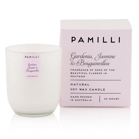 Gardenia Jasmine & Bougainvillea Natural Soy Candle