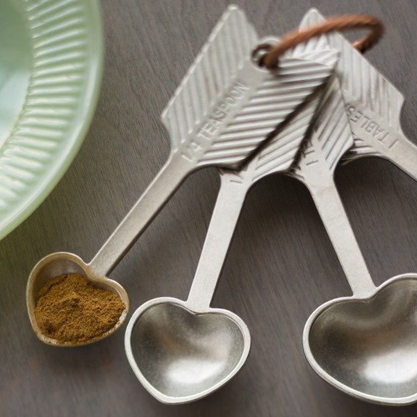 Kitchen | Tools,Collections - Heart Measuring Spoons