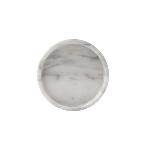 Marble Jewellery Tray - White