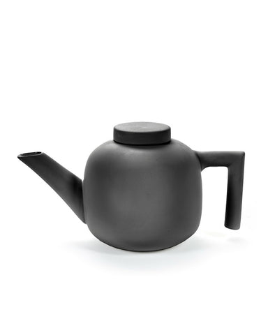 Serax By Catherine Lovatt Black Teapot - Ceramics
