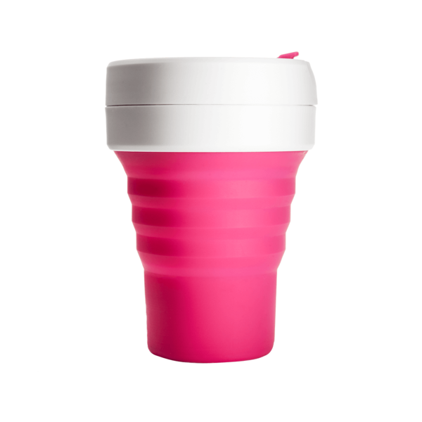 Stojo Pocket Collapsible Cup - Pink