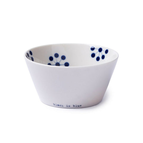 Tableware ceramics - Black Is Blue Small Bowl By Anne Black