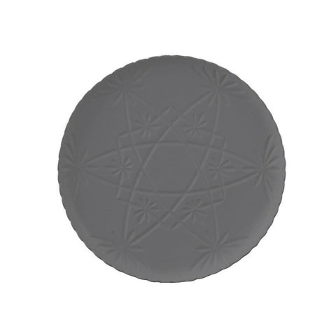 Tableware Ceramics  - Hardware Lane Cake Plate - Grey