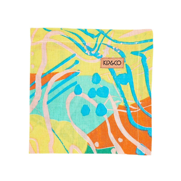 Tableware Kip and Co - Birds Eye Napkins - Set Of 6