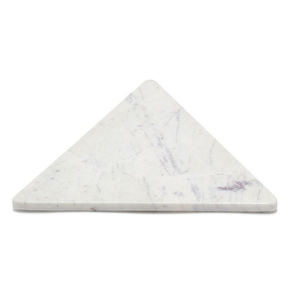 Tableware Marble Basics- Marble Equilateral Triangle Trivet