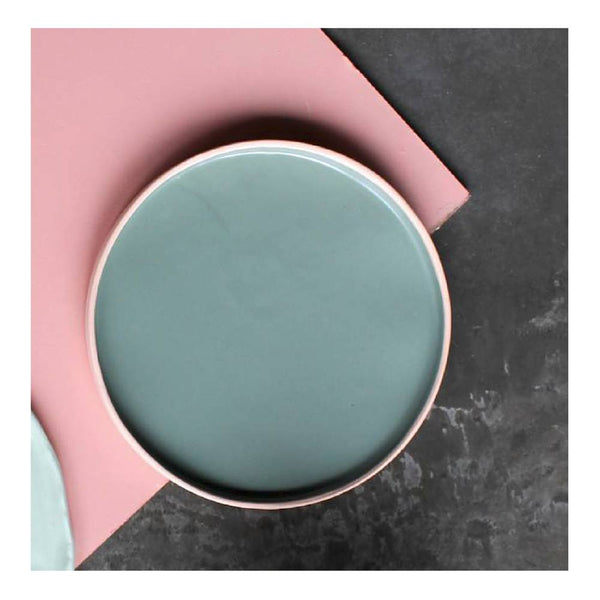 Tableware Ceramics - Kaz Morton Teal Glazed Serving Plate