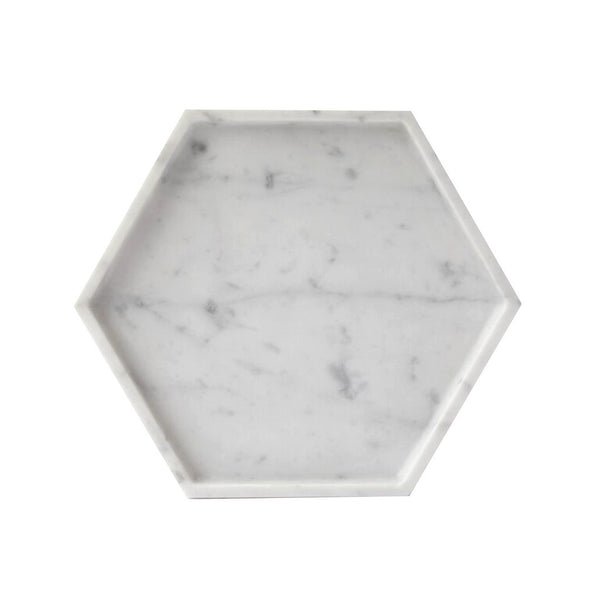 Hexagon Marble Tray