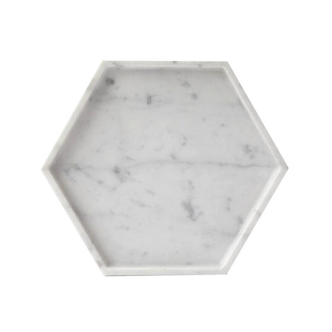 Tableware - Hexagon Marble Tray