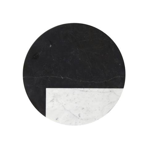 Tableware - Round Marble Trivet | Orbit Nero