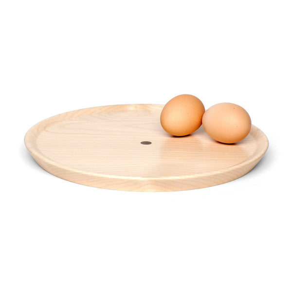 Tableware Timberware - Wooden Space Plate With Stand - Ash