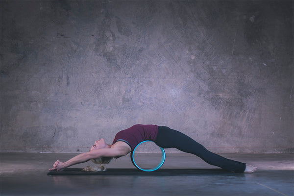 Yoga Wheel Bridge Pose_1