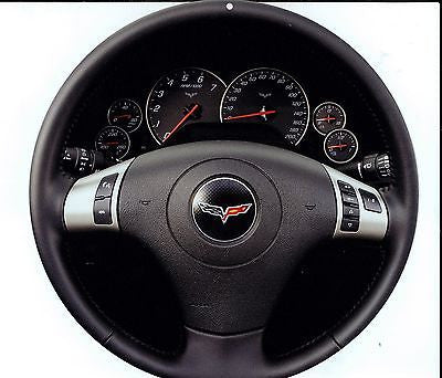 Corvette C6 Steering Wheel Sign