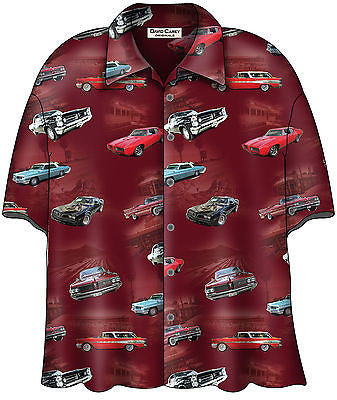Pontiac Firebird GTO Bowling Camp Club Shirt by David Carey Apparel
