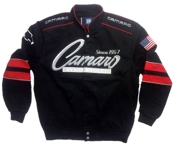 JH Design Chevy Camaro Cotton Twill Jacket