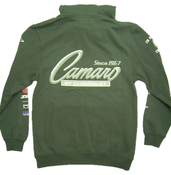 Chevrolet Camaro Zip-up Hoodie with Screen Printed Racing Logos by JH Design