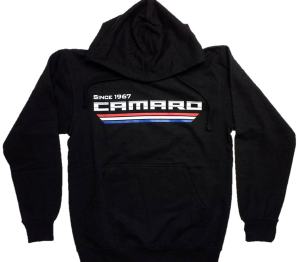 "Camaro Men's ""Since 1967"" Tribar Logo Hoodie by JH Design"