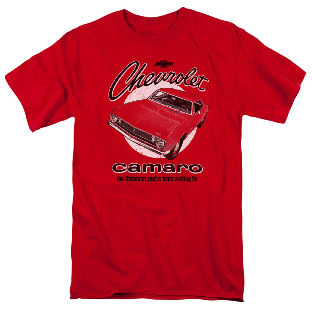 Chevrolet Retro Camaro Adult Short Sleeve T-Shirt