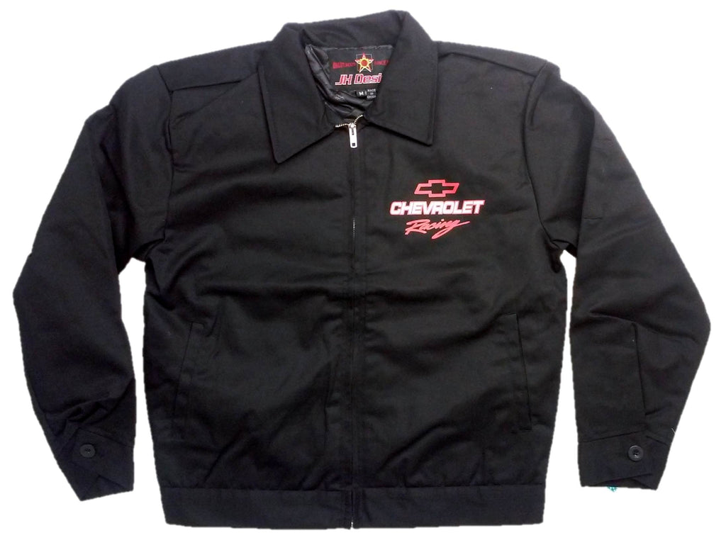 Chevrolet Racing Jacket with Screen Printed Logo by JH Design