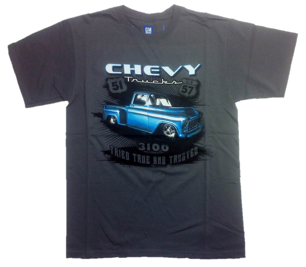 "Chevy ""TRIED TRUE AND TRUSTED"" 1954 Truck T-Shirt by JH Design"