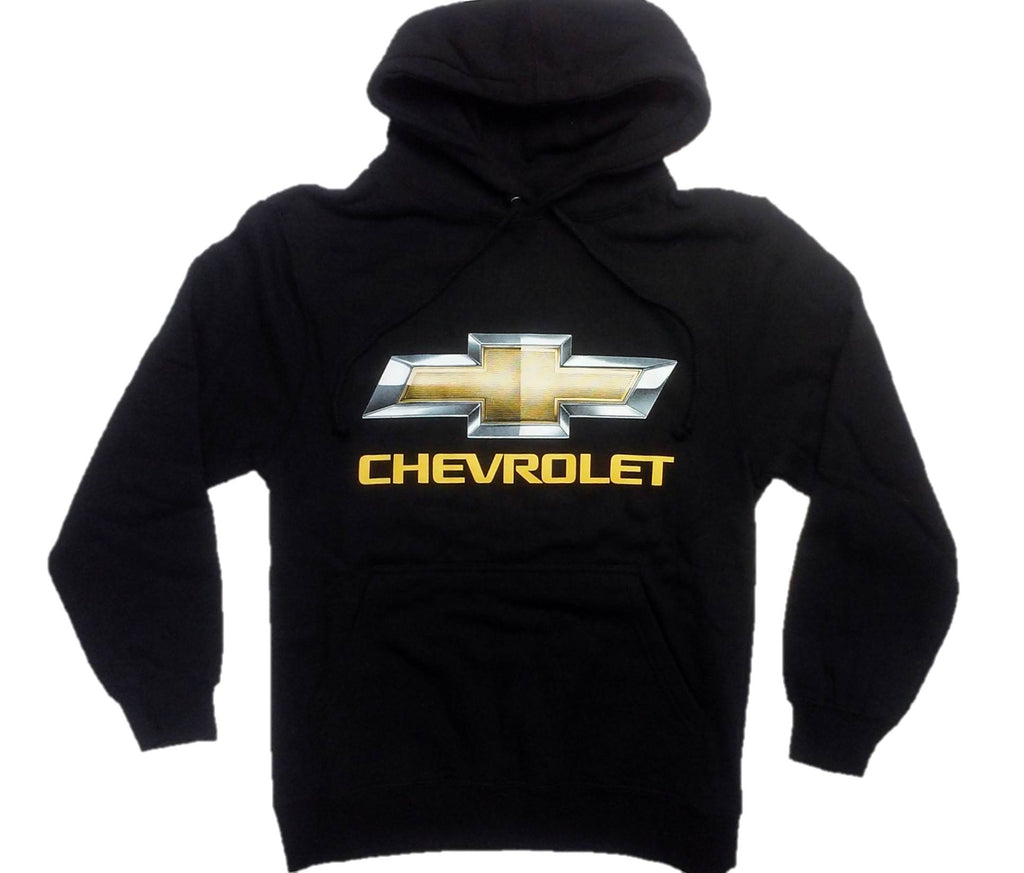 Chevy Pullover Hoodie with Screen Printed Logo by JH Design