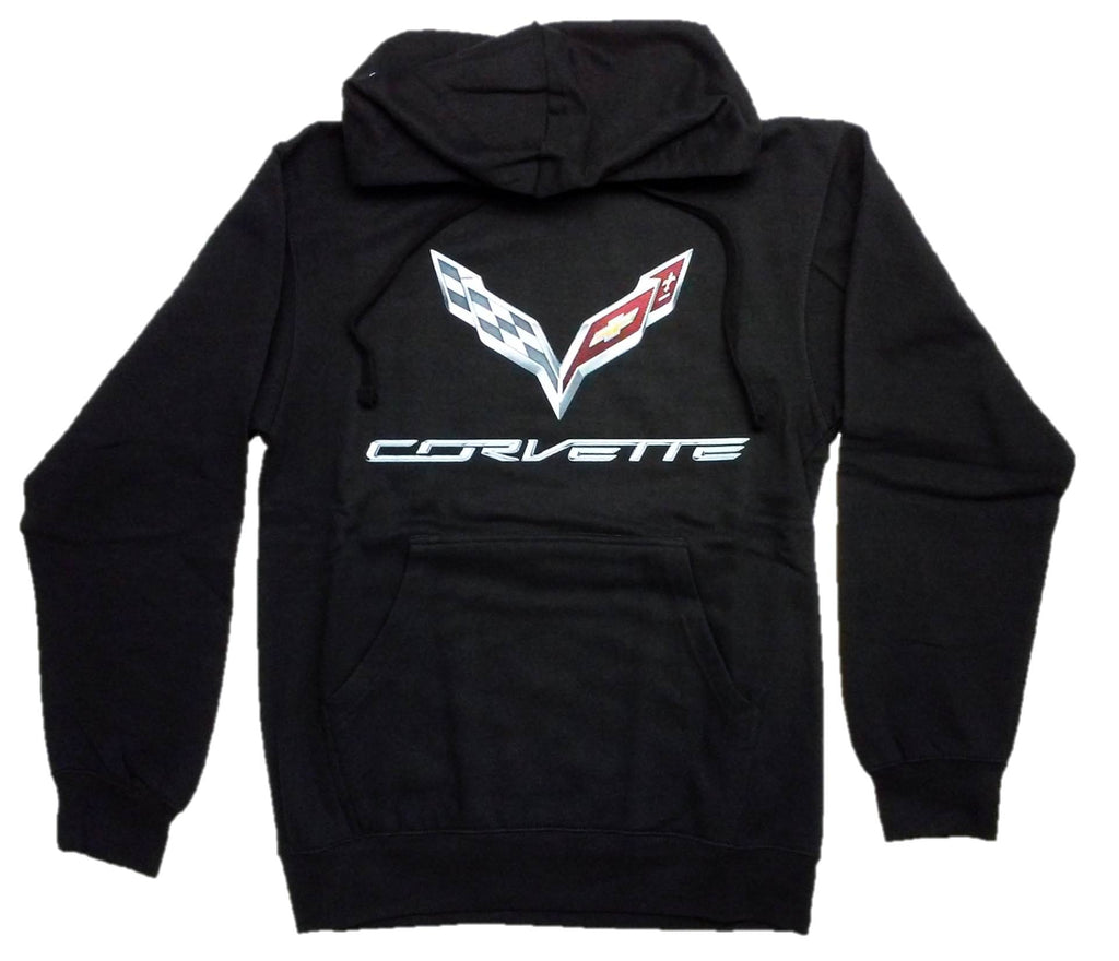 Corvette Hoodie w/ Screen Printed C7 Logo by JH Design