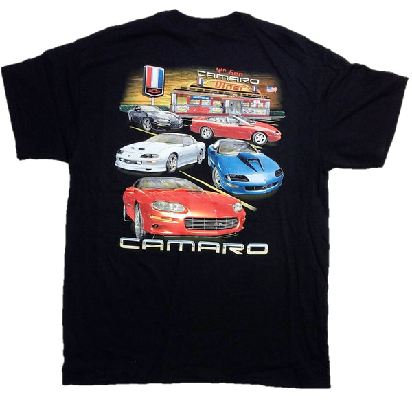 "Joe Blow Men's Chevy ""4th Gen CAMARO Diner"" T-Shirt"