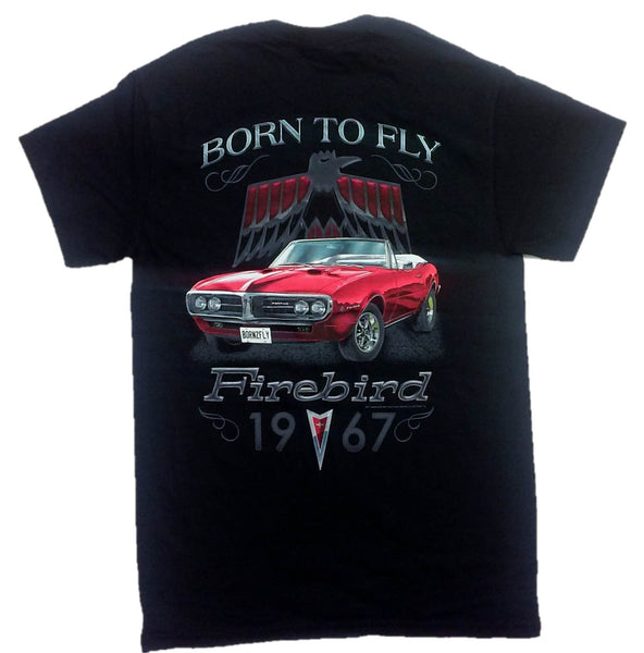 Pontiac Firebird Born To Fly 1967 Adult Men's T-Shirt by Joe Blow