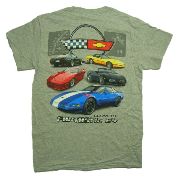Joe Blow Men's Corvette Fantastic C4 Generation T-Shirt