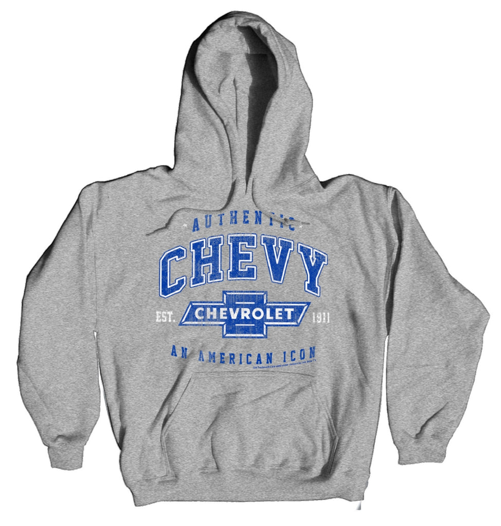 "Chevy Men's ""AN AMERICAN ICON"" Hoodie by Joe Blow"