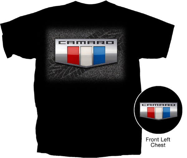 Chevy Men's Camaro Logo T-Shirt by Joe Blow