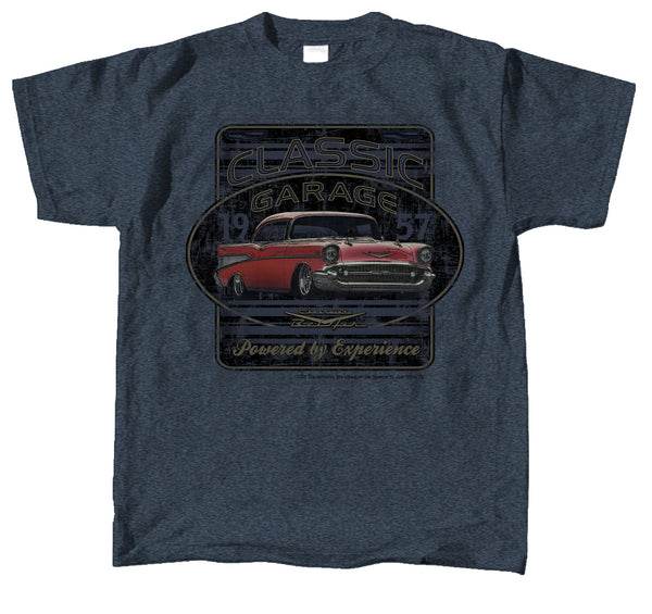 1957 Chevy Bel Air Logo T-Shirt 100% Cotton Preshrunk - By Joe Blow T's