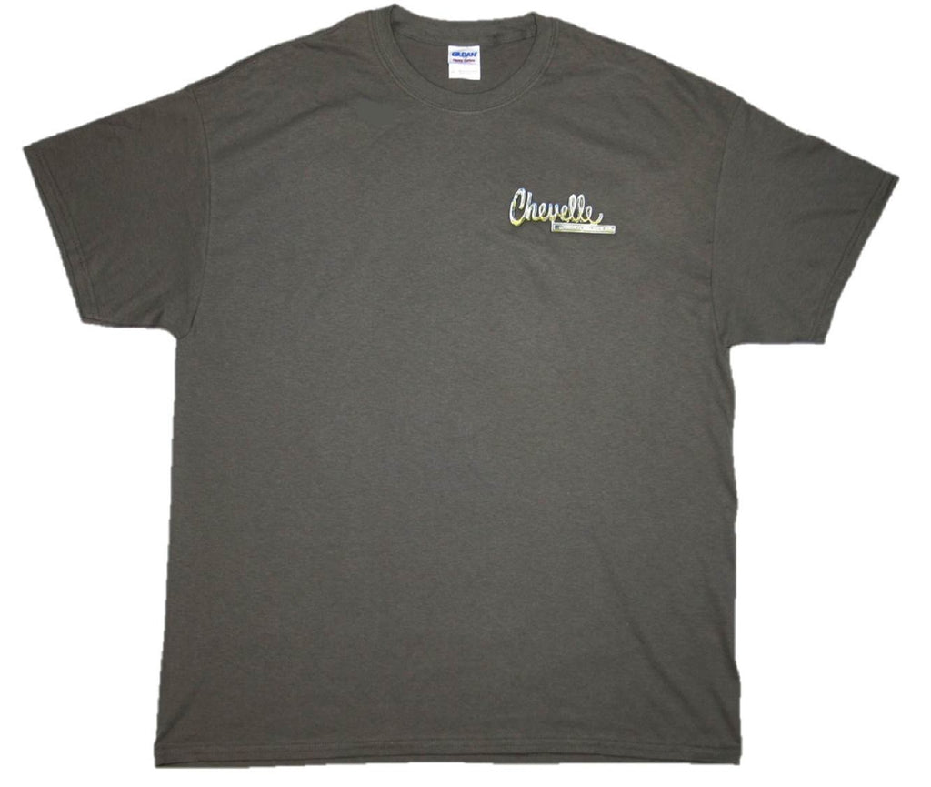 GM Chevrolet Chevelle Classic Car Lineup Automobile Graphic Print T-Shirt