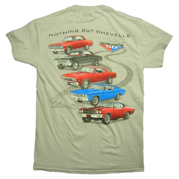 1964 to 1972 Chevy Chevelle - Malibu Graphic Print T-Shirt by Joe Blow