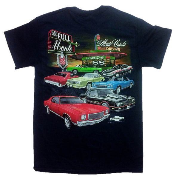 Chevy Full Monte Carlo Drive In T-Shirt by Joe Blow T's